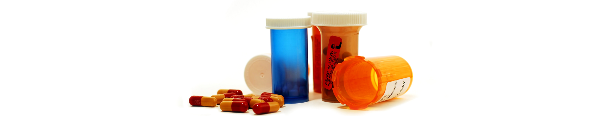 medicines in a container